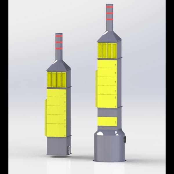 集成化VOCs多元净化器