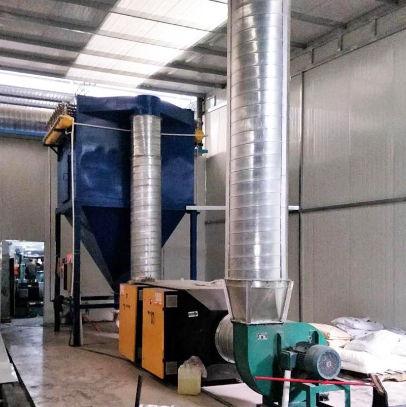 四川康氏公司小型橡胶废气净化系统