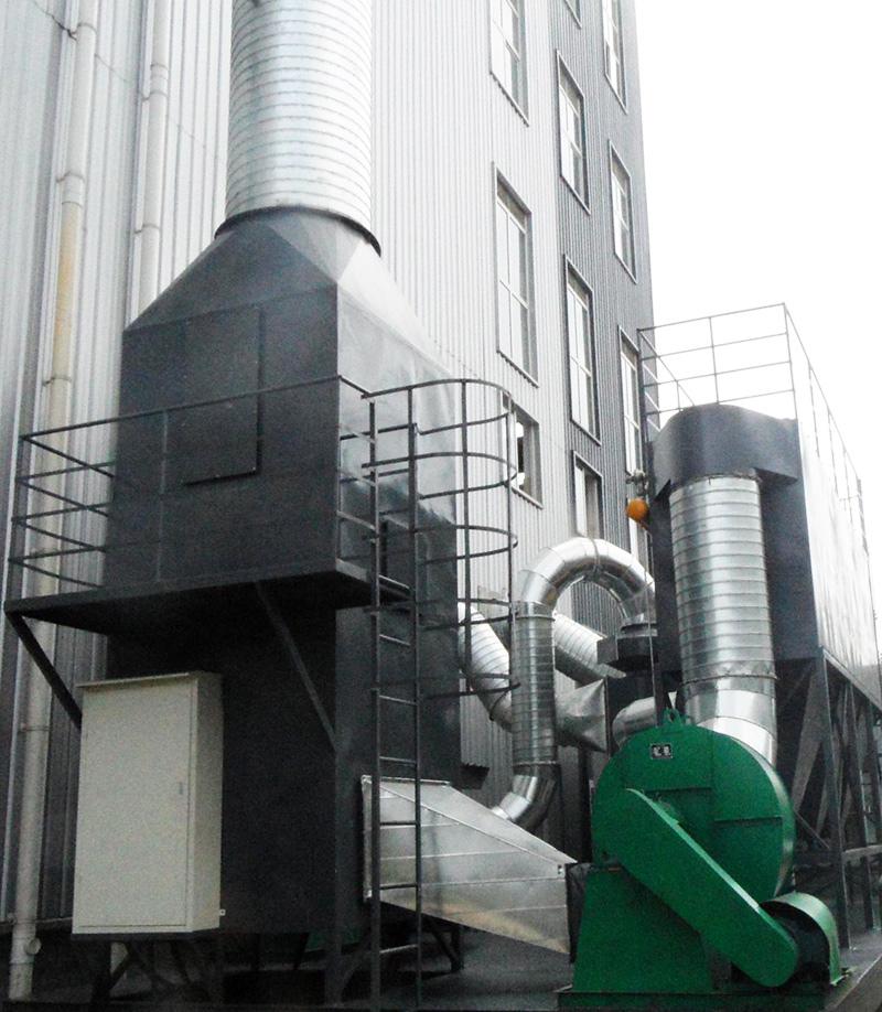 昕中和胶业橡胶废气集成净化系统