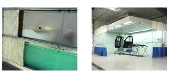 湿式净化喷漆室