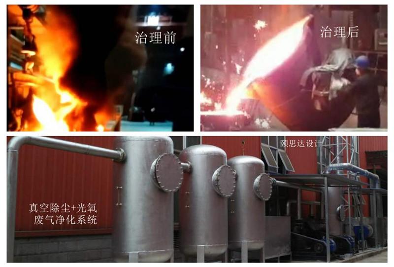铸钢车间消失模铸造烟气处理系统